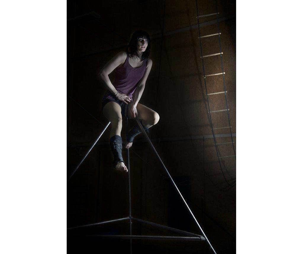 © Charles Roux - Portrait of Aline Chapet
