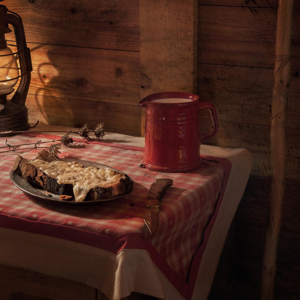 """© Charles Roux - Fictitious Feasts : """"Heidi"""" (Johanna Spyri)"""
